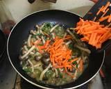Orak-arik Jamur Shimeji langkah memasak 4 foto