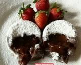 Chocolava/Molten Cake Kukus (Dengan Tips) langkah memasak 11 foto