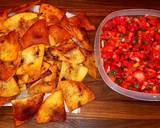 Mike's Peppered Fruit Salsa With Cinnamon Chips recipe step 6 photo