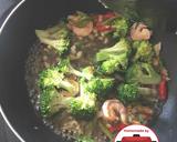 Tumis brokoli udang kembang tahu nikmat mudah#homemadebylita langkah memasak 2 foto