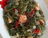 Tumis Daun Waluh/Labu Siam Muda langkah memasak 4 foto