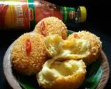 Roti Goreng Keju Meler (no ulen) langkah memasak 7 foto