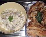 Foto del paso 5 de la receta Pollo con salsa de champiñones ?