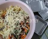 Macaroni schotel with veggies langkah memasak 5 foto
