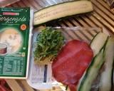 Involtini di bresaola con gorgonzola (cheese and beef rolls) langkah memasak 1 foto