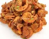 Salted egg sauce shrimp langkah memasak 6 foto