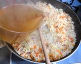 My mother's pilaf with chicken white cream recipe step 3 photo