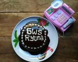 Super Moist Steamed Chocolate Cake Juara NO mixer NO oven 1telur langkah memasak 9 foto