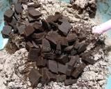 Chocolate Muffin langkah memasak 5 foto