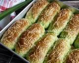 Cheese Pandan Potato Bread langkah memasak 17 foto