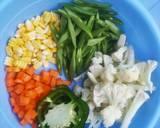 Gindara Vegetable Oyster Souce langkah memasak 2 foto