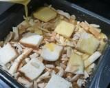 Bread puding langkah memasak 3 foto
