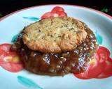 Steak Tahu Keju Oatmeal langkah memasak 4 foto
