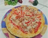Pizza teflon ala rumahan langkah memasak 9 foto