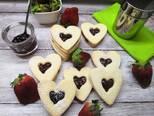Glutén, tej- és lisztkeverékmentes linzer recept lépés 7 foto