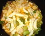 Sundubu Jjigae (Tahu Pedas Korea) langkah memasak 4 foto