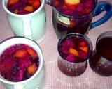 Es Buah Naga n Kedondong n Pepaya jg Selasih... Simpel tnp Syrup langkah memasak 6 foto