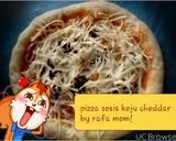 Pizza Sosis Keju Cheddar langkah memasak 9 foto