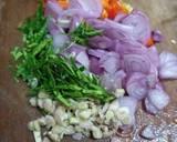 Jamur Geprek Sambal Matah langkah memasak 5 foto