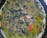 Spinach Omelet langkah memasak 5 foto