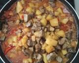 Sambal goreng hati sapi kentang langkah memasak 4 foto