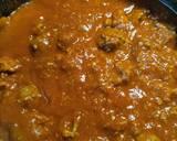 Cavatappi in a Meat Sauce
