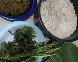 Nasi Bakar Ikan Pari lombok Ijo langkah memasak 4 foto