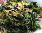 Tumis Kangkung langkah memasak 4 foto