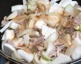 Japanese Miso Daikon Radish with Pork recipe step 3 photo