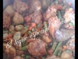 Foto del paso 2 de la receta Arroz con pollo y menestra