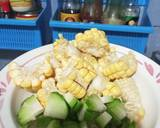 Sayur bayam jagung labu siam langkah memasak 1 foto