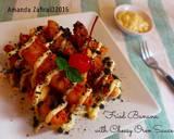 Fried banana with cheesy oreo sauce langkah memasak 5 foto