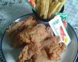 Fried Chicken Ala KFC #pekaninspirasi langkah memasak 6 foto