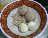 bakso isi telur ayam kampung langkah memasak 1 foto