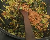Garo Bunga Pepaya langkah memasak 5 foto