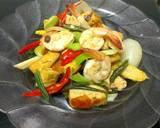 Tahu Tauco Udang Medan khas Mamak langkah memasak 7 foto