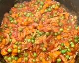 Ryż z kurczakiem, marchewką i groszkiem krok przepisu 6 zdjęcie