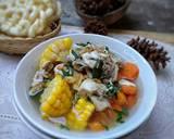 Sup Ayam Jagung Wortel langkah memasak 4 foto