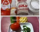 Acar Nanas Segar langkah memasak 1 foto