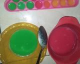 Cemilan & Jajanan Rainbow~Puding Susu Bola Rainbow langkah memasak 2 foto