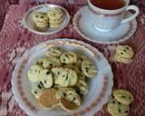 Eggless chocolate chip Cookies (versi teplon) langkah memasak 6 foto