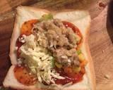 Veggy Pizza Pocket langkah memasak 9 foto