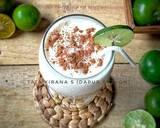 Cinnamon Egg Milk (minuman putih telur) langkah memasak 6 foto