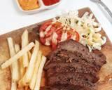Steak Daging Sapi langkah memasak 3 foto