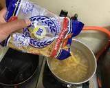 Mix Egg-Seafood Penne Pasta langkah memasak 1 foto