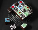 Cake potong hias langkah memasak 8 foto
