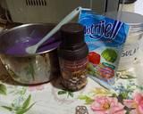 Pudding Kombinasi Pandan Taro langkah memasak 1 foto