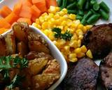 Beef steak and cheese potato wedges #PR_recookamerikaamerhoma langkah memasak 6 foto