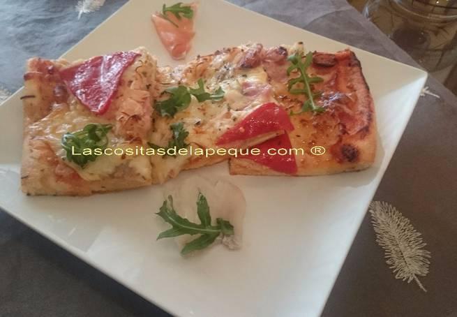 9 Pizza Crujiente Mar Y Montaña