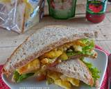 Egg Sandwich #pr_recookAmerikaAmerhoma langkah memasak 3 foto